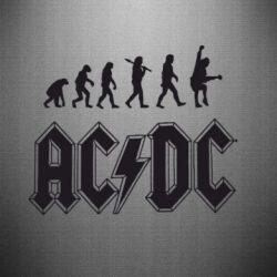 Наклейка Эволюция AC\DC - FatLine
