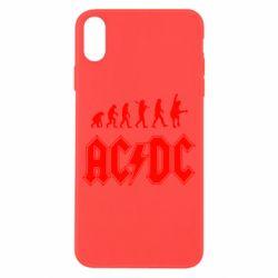 Чохол для iPhone X/Xs Еволюція AC\DC