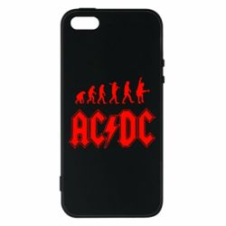 Чохол для iphone 5/5S/SE Еволюція AC\DC