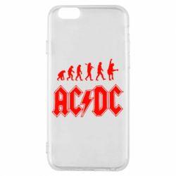 Чохол для iPhone 6/6S Еволюція AC\DC