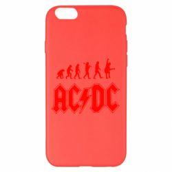 Чохол для iPhone 6 Plus/6S Plus Еволюція AC\DC