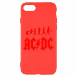Чохол для iPhone 7 Еволюція AC\DC