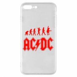 Чохол для iPhone 7 Plus Еволюція AC\DC