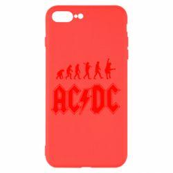 Чохол для iPhone 8 Plus Еволюція AC\DC