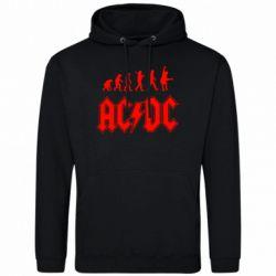 Толстовка Эволюция AC\DC - FatLine