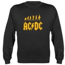 Реглан Эволюция AC\DC - FatLine
