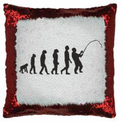 Подушка-хамелеон Еволюція рибалки