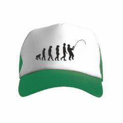 Дитяча кепка-тракер Еволюція рибалки