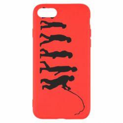 Чохол для iPhone 8 Еволюція рибалки