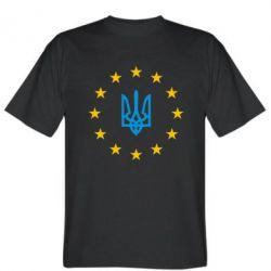 Мужская футболка ЕвроУкраїна - FatLine