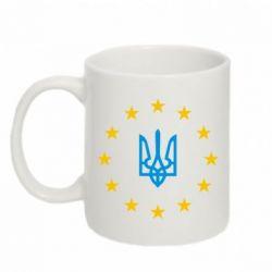 Кружка 320ml ЕвроУкраїна - FatLine