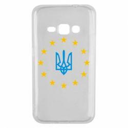 Чехол для Samsung J1 2016 ЕвроУкраїна