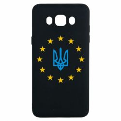Чехол для Samsung J7 2016 ЕвроУкраїна