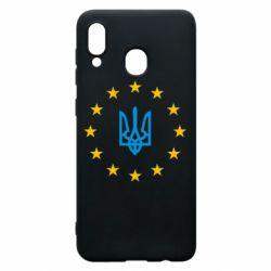 Чехол для Samsung A20 ЕвроУкраїна