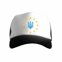 Детская кепка-тракер ЕвроУкраїна