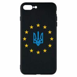 Чехол для iPhone 8 Plus ЕвроУкраїна