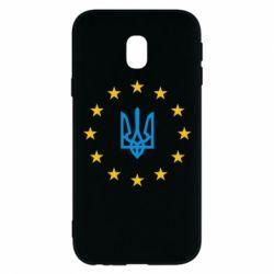 Чехол для Samsung J3 2017 ЕвроУкраїна