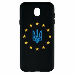Чехол для Samsung J7 2017 ЕвроУкраїна