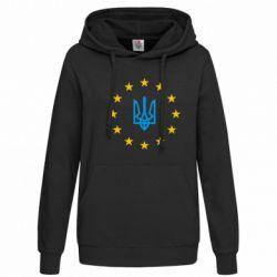 Толстовка жіноча ЕвроУкраїна