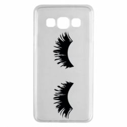 Чохол для Samsung A3 2015 Eyelashes