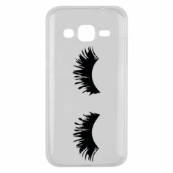 Чохол для Samsung J2 2015 Eyelashes