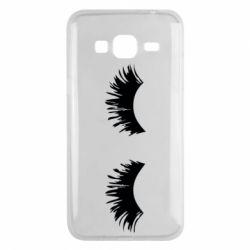 Чохол для Samsung J3 2016 Eyelashes
