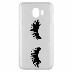Чохол для Samsung J4 Eyelashes