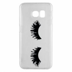 Чохол для Samsung S6 EDGE Eyelashes