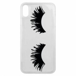 Чохол для iPhone Xs Max Eyelashes