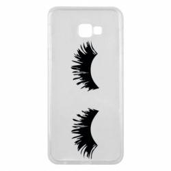 Чохол для Samsung J4 Plus 2018 Eyelashes
