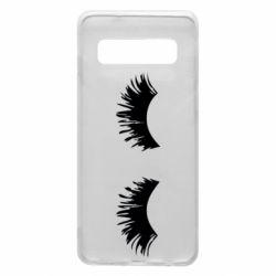 Чохол для Samsung S10 Eyelashes