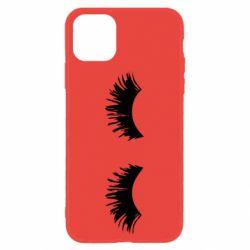 Чохол для iPhone 11 Eyelashes