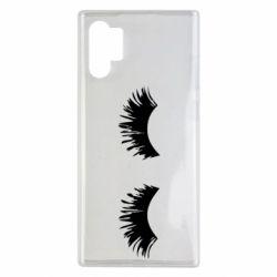 Чохол для Samsung Note 10 Plus Eyelashes