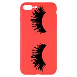 Чохол для iPhone 7 Plus Eyelashes