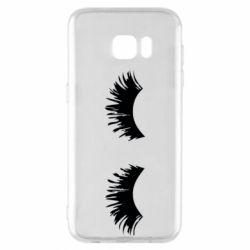 Чохол для Samsung S7 EDGE Eyelashes