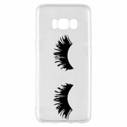 Чохол для Samsung S8 Eyelashes