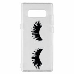 Чохол для Samsung Note 8 Eyelashes
