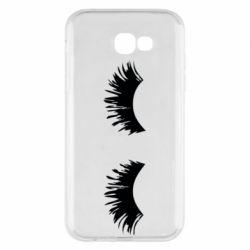 Чохол для Samsung A7 2017 Eyelashes