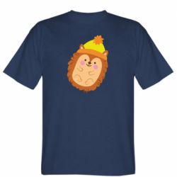 Чоловіча футболка Їжачок в шапочці