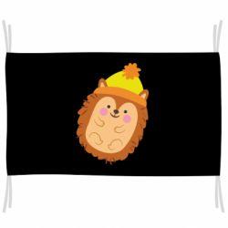Прапор Їжачок в шапочці