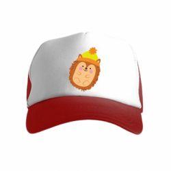 Дитяча кепка-тракер Їжачок в шапочці