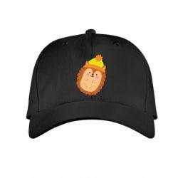 Дитяча кепка Їжачок в шапочці