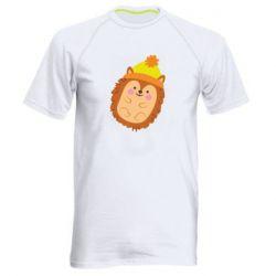 Чоловіча спортивна футболка Їжачок в шапочці