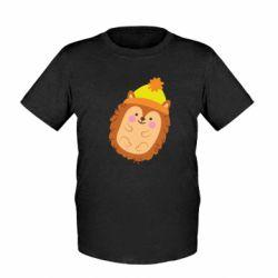 Дитяча футболка Їжачок в шапочці