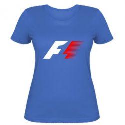 Женская футболка F1 - FatLine