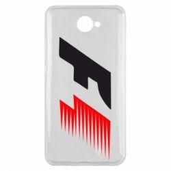 Чехол для Huawei Y7 2017 F1 - FatLine