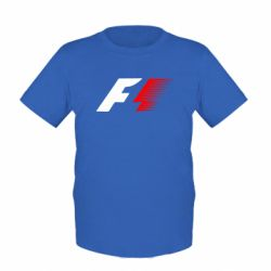 Детская футболка F1 - FatLine