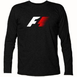 Футболка с длинным рукавом F1 - FatLine