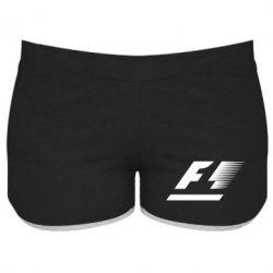 Женские шорты F1 - FatLine