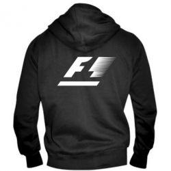 Мужская толстовка на молнии F1 - FatLine